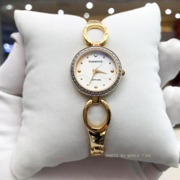 Đồng hồ Nữ Sunrise SL675SXA - Full Box , Thẻ BH hãng - Kính Sapphire chống xước, chống nước