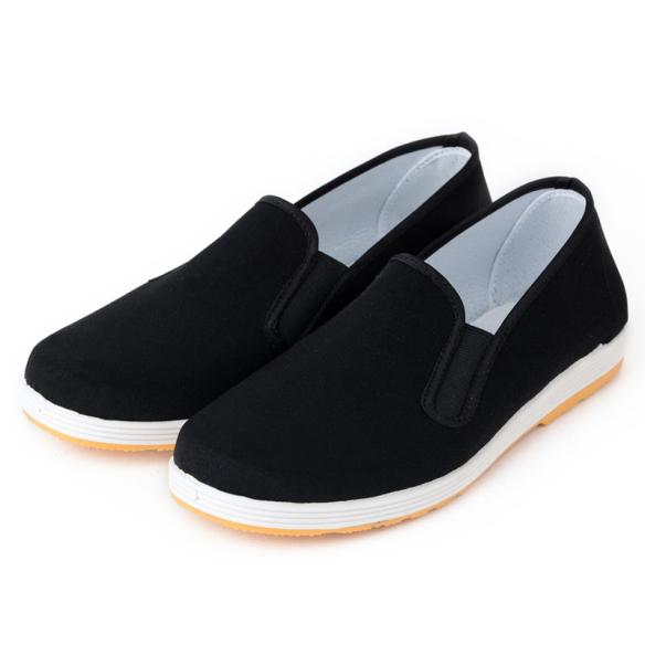 Giày lười vải nam Hàn Quốc canvas dày dặn ôm chân, êm ái khi sử dụng New giá rẻ