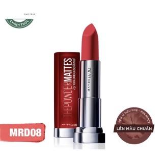 Son Lì Mềm Môi Maybelline Color Sensational Powder Matte Red by Red- 3.9g thumbnail