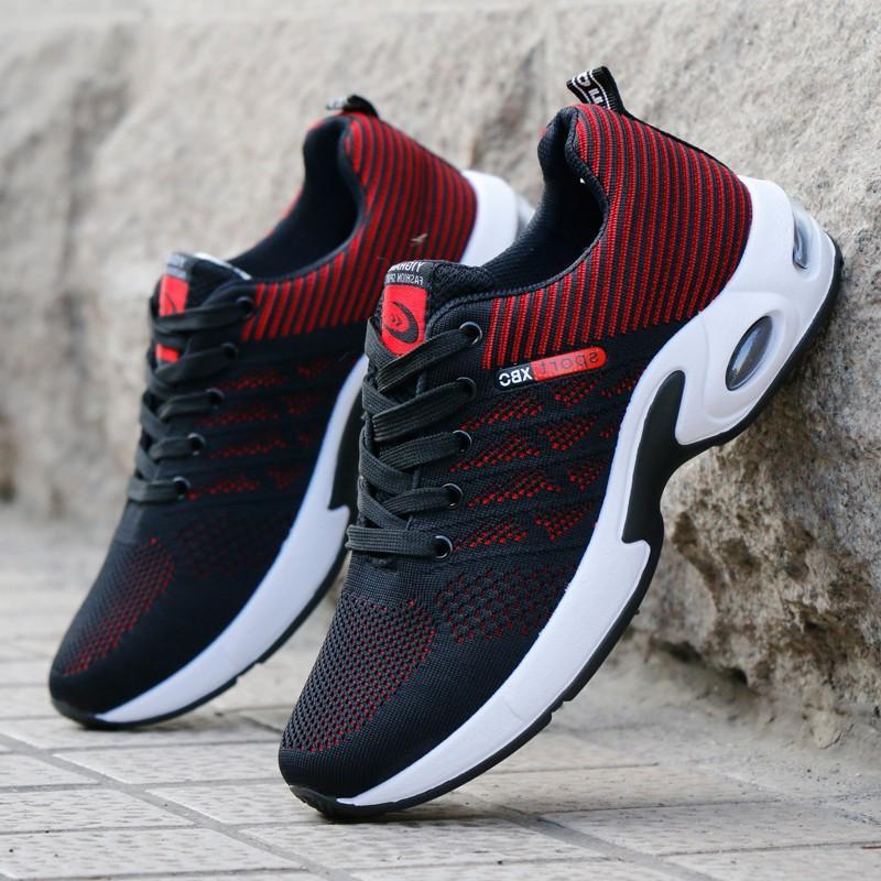 Giày Sneaker nam  - Giày thể thao nam buộc dây  - thể thao, chạy bộ, đi chơi - Giày vải, đế cao su cực bền G89
