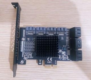 Card Chuyển Đổi Pci-E Sang Sata 3.0 10 Cổng Sata cho SSD ,HDD (HÀNG CÓ SẴN) thumbnail