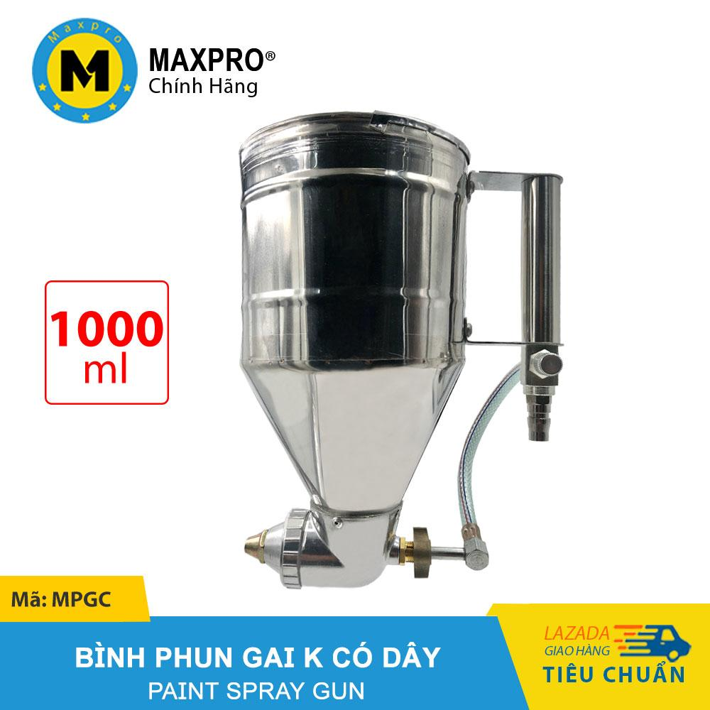 Bình Phun Gai K MAXPRO Có Dây - Bình Chứa Sơn 1000ml - MPGC