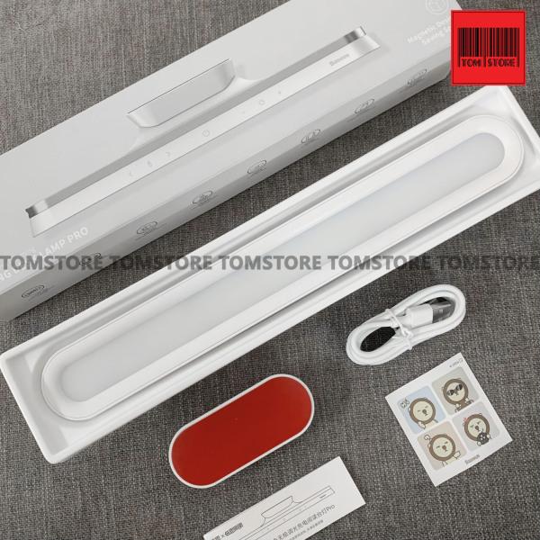 Bảng giá Đèn treo đế hít nam châm, chống mỏi mắt Baseus Magnetic Stepless Dimming Charging Desk Lamp Pro -Bh 12 tháng Phong Vũ