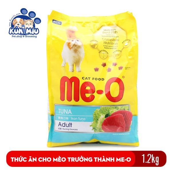Thức ăn cho mèo lớn đã trưởng thành trên 1 tuổi Me-O Adult 1.2 kg
