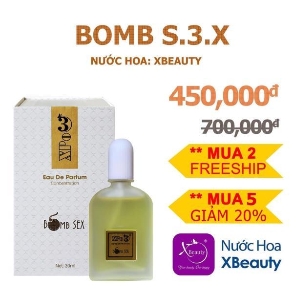 Nước hoa cô đặc XBeauty XPo3 cho Nam & Nữ 30ml (Có 10 mùi) nước hoa thơm lâu cả ngày. Dung dịch nước hoa nhập khẩu từ Pháp