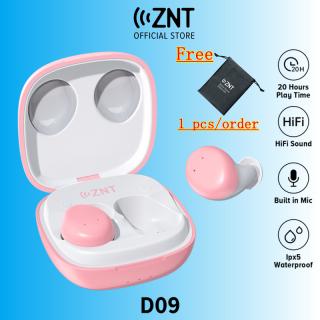 Tai nghe không dây ZNT Macaroon Bluetooth 5.0 điều khiển cảm ứng chính hãng tích hợp Mic và âm thanh Hifi nổi sắc nét - INTL thumbnail