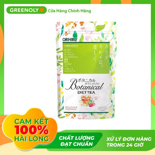 Trà Detox Hỗ Trợ Giảm Cân Orihiro Botanical Diet Tea 20 gói x 2g - Greenoly Việt Nam phân phối chính hãng