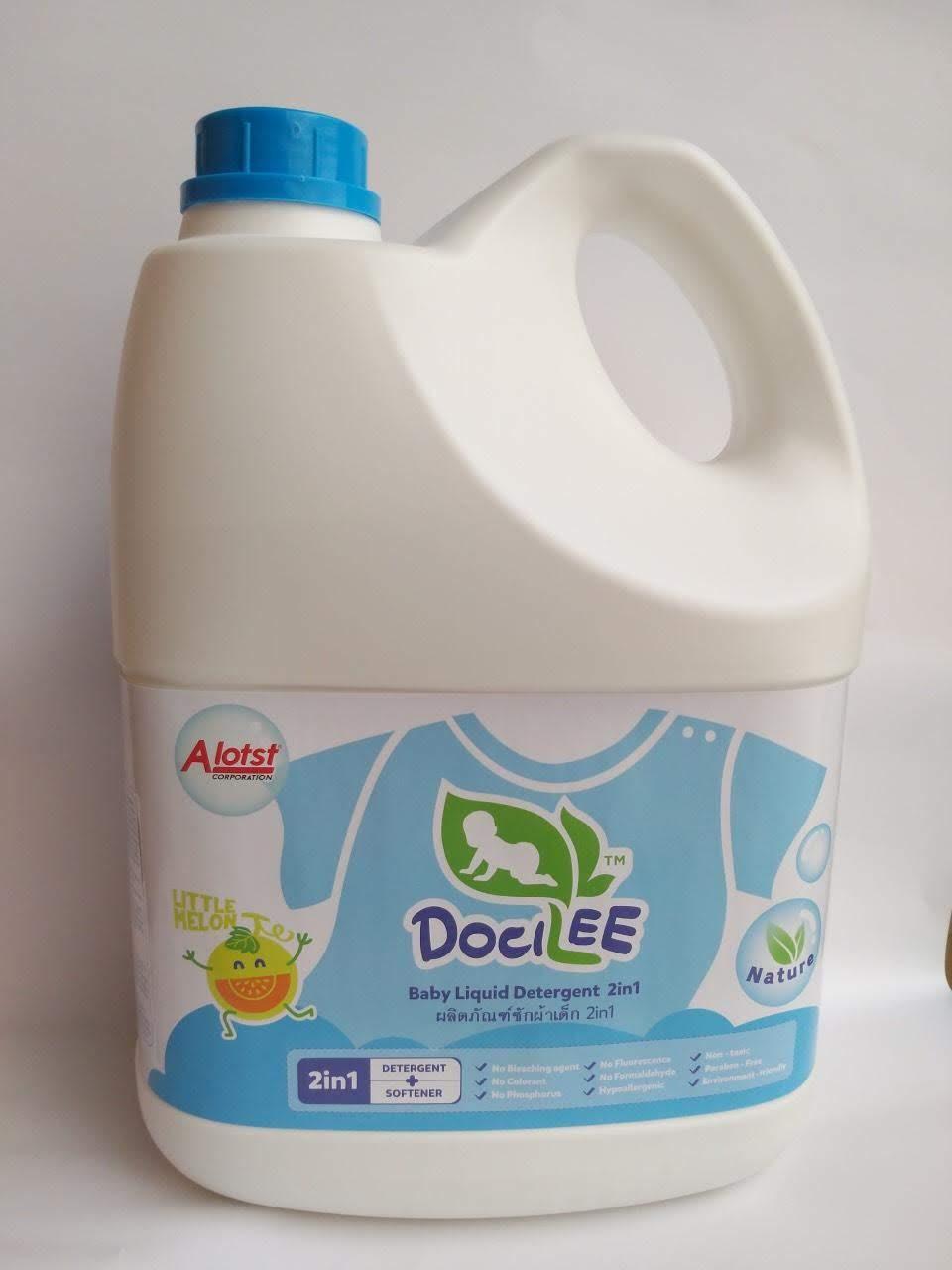 Dung dịch giặt xả em bé Docilee 3000ml