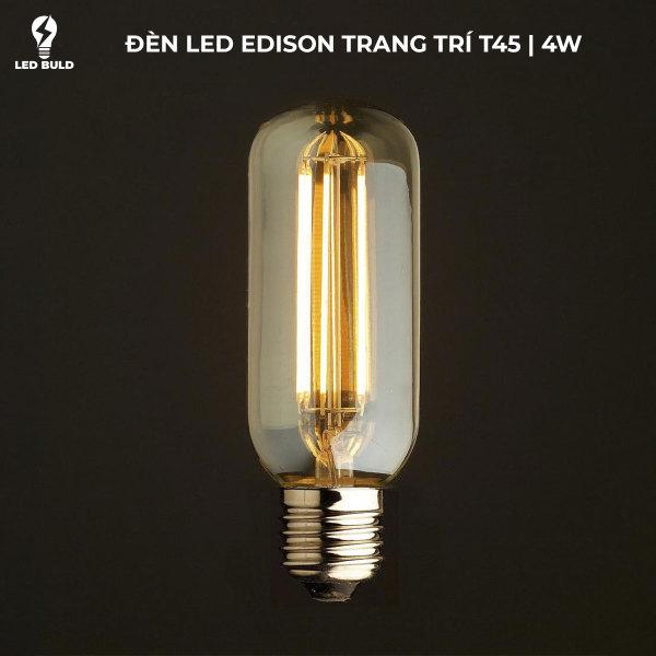 Bóng Đèn LED Edison T45 4W E27