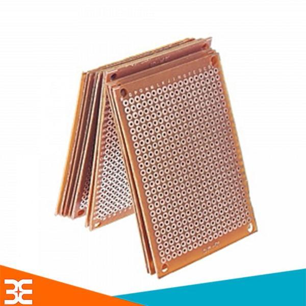 Combo 5 Tấm PCB Phíp Đồng Đục Lỗ 5x7cm (Nâu) Hàn mạch thủ công