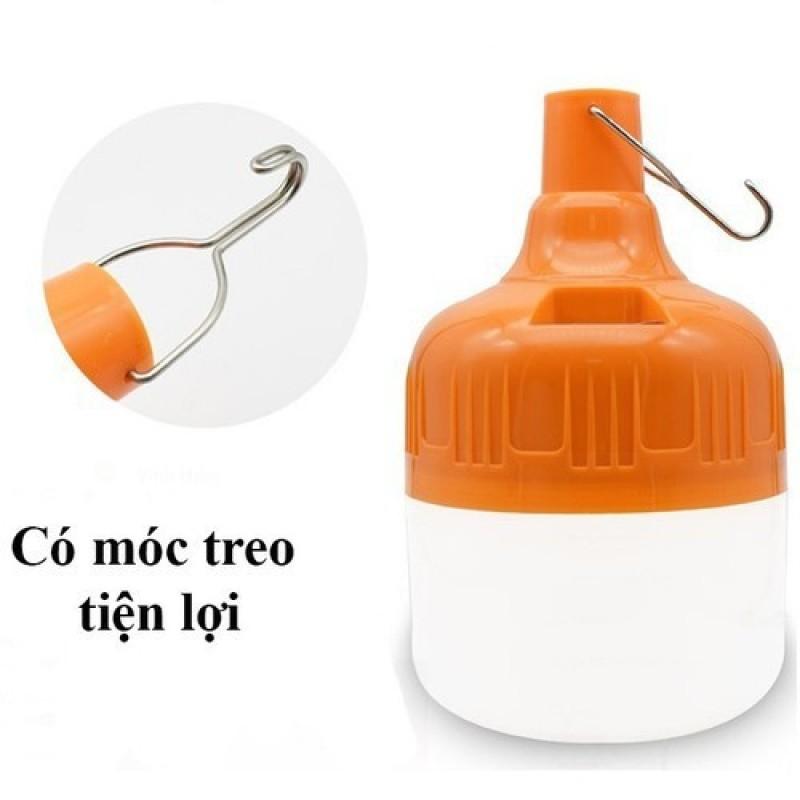 Bóng đèn leg tích điện 3 chế độ - bóng đèn siêu sáng tích điện tiện dụng có móc treo