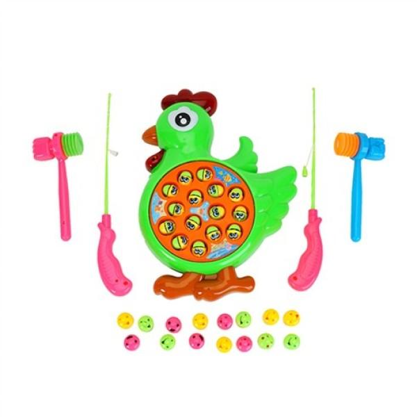 Vỉ đồ chơi câu cá, đồ chơi đập chuột 2 trong 1 - nhiều hình