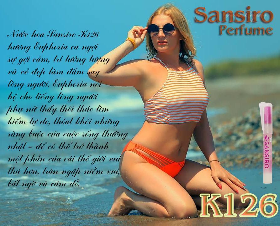 K126 - Nước hoa nữ Sansiro Thổ Nhĩ Kỳ 8ml