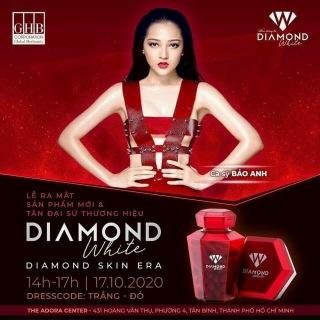 (mua 2 tặng 1 sữa ong chúa) combo 2 hộp Viên uống trắng da Ngọc Trinh Beauty Diamond White Plus 5.0 tem cào thumbnail