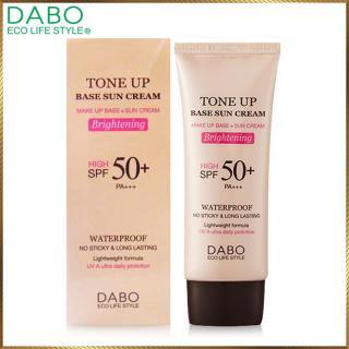 [Lấy mã giảm thêm 30%] Kem lót nền chống nắng DABO Hàn Quốc Tone Up Base Sun Cream DTU12 thumbnail