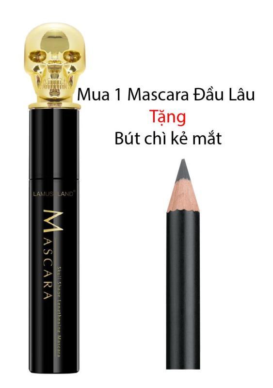 Mascara Đầu Lâu + Tặng kèm Bút Kẻ Mắt