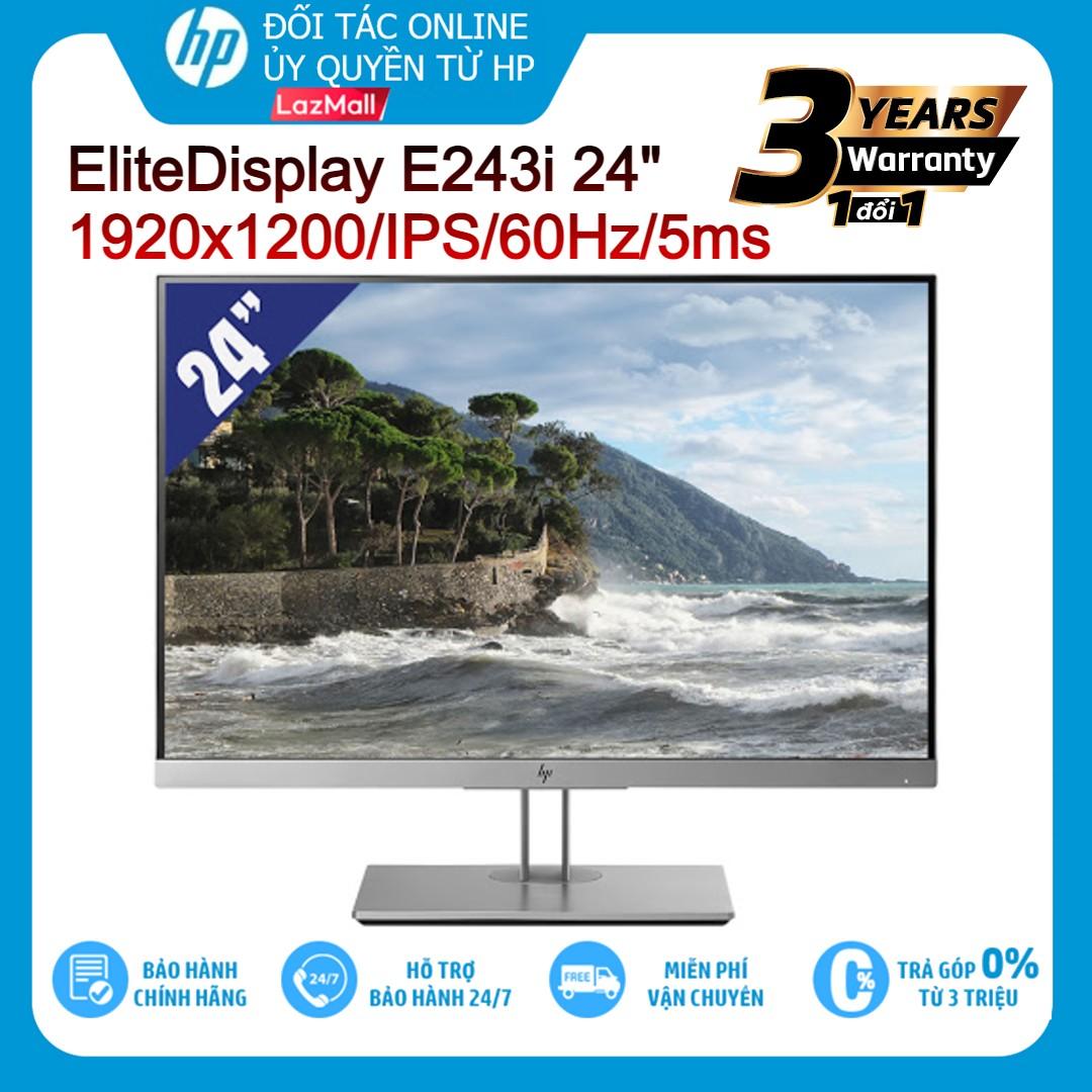 """Màn hình LCD HP EliteDisplay E243i 24""""Inch 1920x1200/IPS/60Hz/5ms - Hàng chính hãng new 100%"""