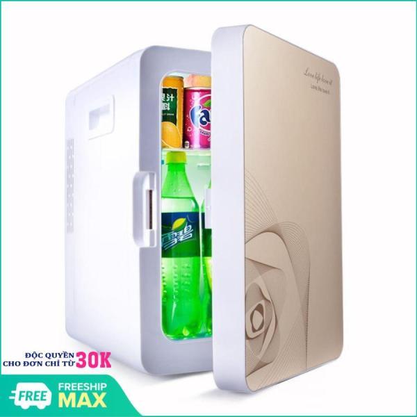 Tủ lạnh, tủ mát mini dùng trên oto, xe hơi ( 20 Lít, hai chiều nóng lạnh) Cao cấp Agiadep - Tủ lạnh mini đựng mỹ phẩm, sữa cho bé, đồ dùng, thực phẩm trên xe ô tô . BH UY TÍN 1 ĐỔI 1