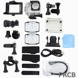 Camera 4K Ultra HD hành trình xe máy Camera phượt thể thao kết nối Wifi chống nước chống rung có remote Aurum 16 6