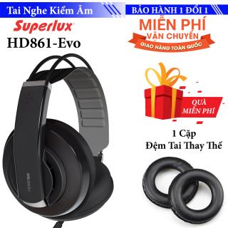 Tai nghe kiểm âm Over Ear Superlux HD681 Evo - Siêu BASS thumbnail