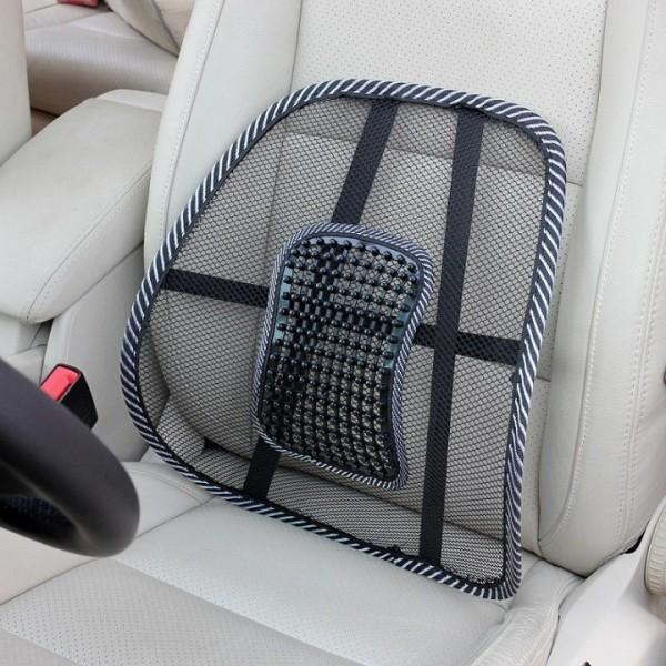 Combo 2 Tấm lưới đệm tựa lưng chống mỏi chống nóng ghế ô tô ghế văn phòng