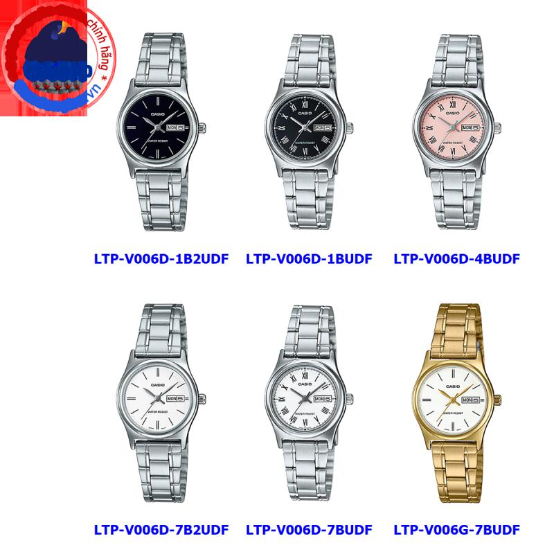 Đồng hồ nữ Casio LTP-V006 ❤️ 𝐅𝐑𝐄𝐄𝐒𝐇𝐈𝐏 ❤️ Đồng hồ Casio chính hãng Anh Khuê đồng hồ nữ đẹp giá rẻ chính hãng