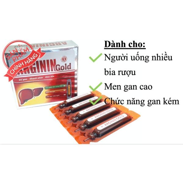 Ống Uống Bổ Gan Arginin Gold - Giúp Giải Độc Gan- Tăng Cường Chức Năng Gan- nhập khẩu
