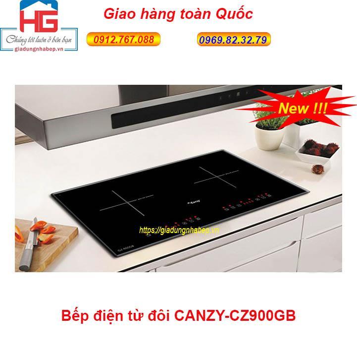 Bếp Điện Từ Canzy CZ-900GB  Bếp Từ Đôi Canzy CZ900GB (SX tại Thái Lan)