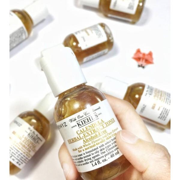 Nước hoa hồng Kiehls Hoa Cúc Calendula Herbal Extract Toner mini nhập khẩu