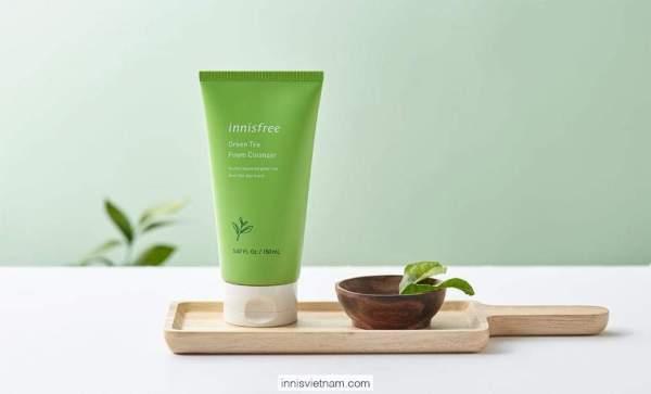 Kem Xả Dưỡng Tóc Từ Trà Xanh In.nisfree Green Tea Fresh Con.ditioner 200ml