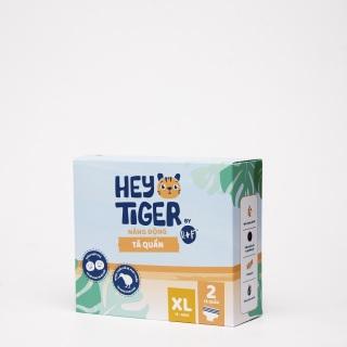 [QUÀ TẶNG KHÔNG BÁN] [HÀNG DÙNG THỬ 2 MIẾNG] Tã Quần Hey Tiger - Size XL cho bé từ 13kg-18kg thumbnail