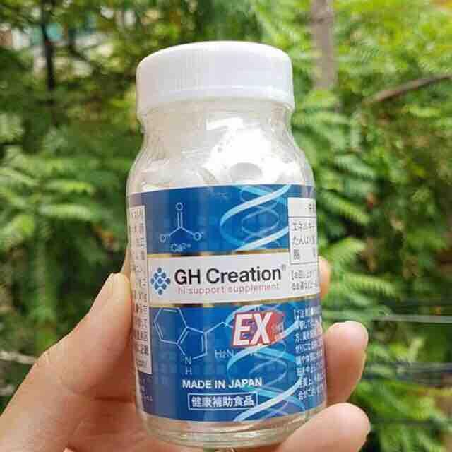 Viên uống tăng chiều cao GH CREATION EX nhật bản