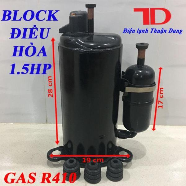 Block Điều Hòa 1.5HP 12000BTU hàng mới bầu to dùng cho GAS R410