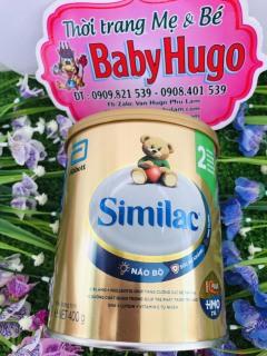 [ HSD 2022] Sữa Similac IQ 2 HMO, 400g, 6-12 Tháng Tuổi thumbnail