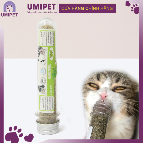 Cỏ Mèo - Cỏ Bạc Hà cho Mèo thư giãn UMIPET