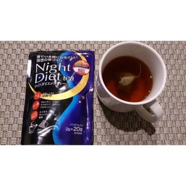 Trà Orihiro night diet tea 20 gói x 2g nhập khẩu