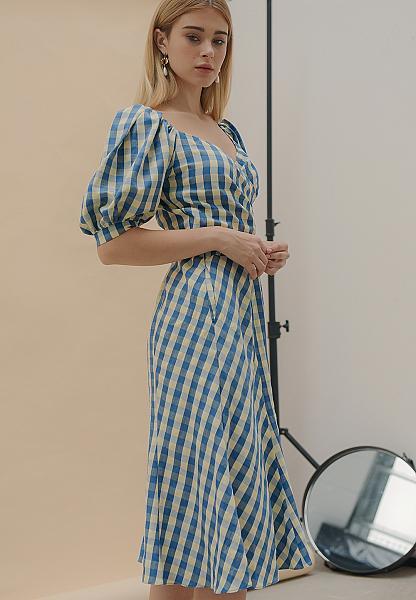 Deal Ưu Đãi Váy Form A Lưng Thun - Lilya 02SKI2327