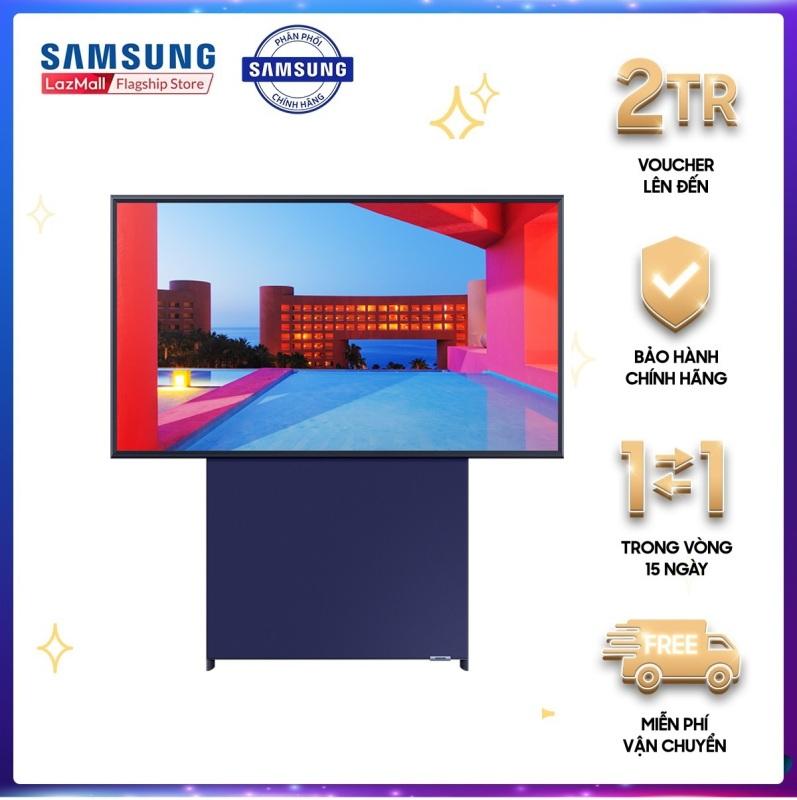 Tivi Qled The SERO Samsung QA43LS05TAKXXV 43inch 4K-S Ultra HD Màn hình xoay tối ưu hoá với nội dung điện thoại chính hãng