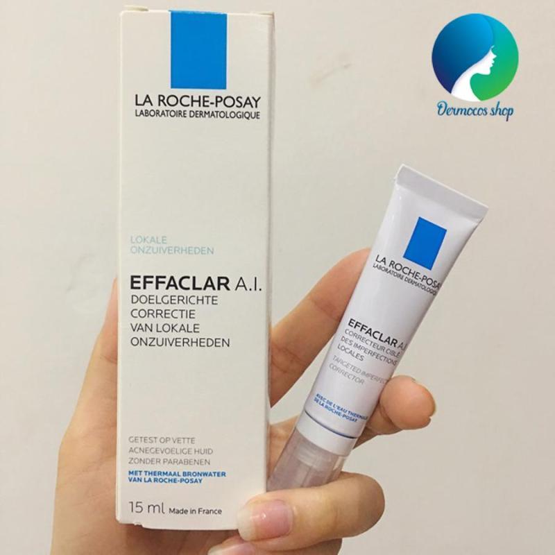 Kem đặc trị mụn chuyên sâu La Roche- Posay Effaclar A.I. 15ml - DMCMP086