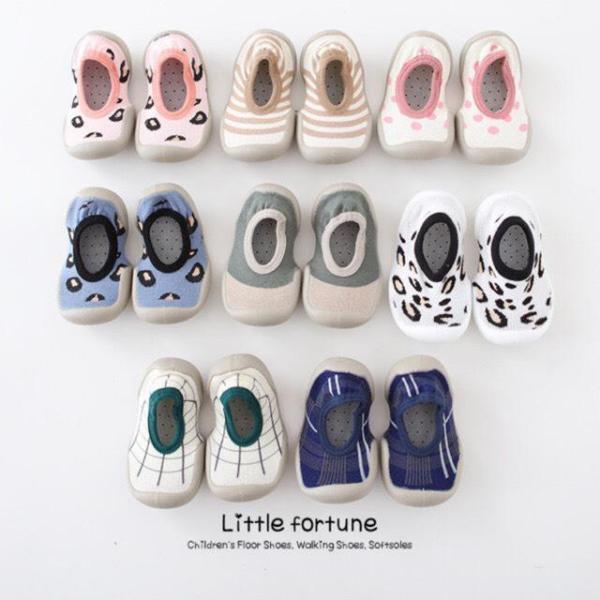 Giày bún tập đi thoáng chân cho bé