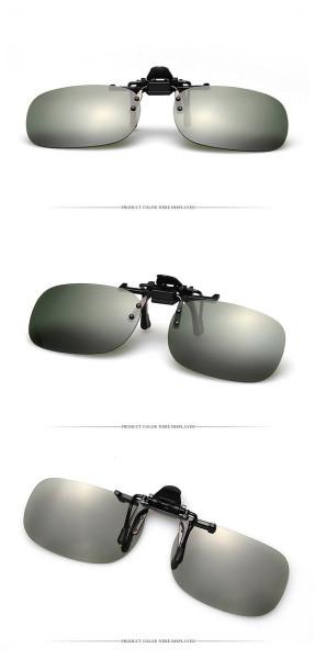 Giá bán Mắt kính phân cực dạng kẹp ( Kính râm cho người cận, viễn )