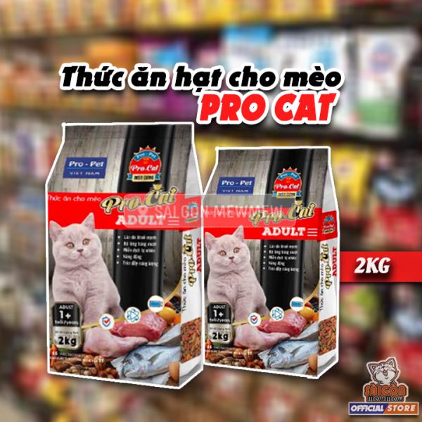 2kg  Thức ăn cho mèo Pro Cat siêu tiết kiệm