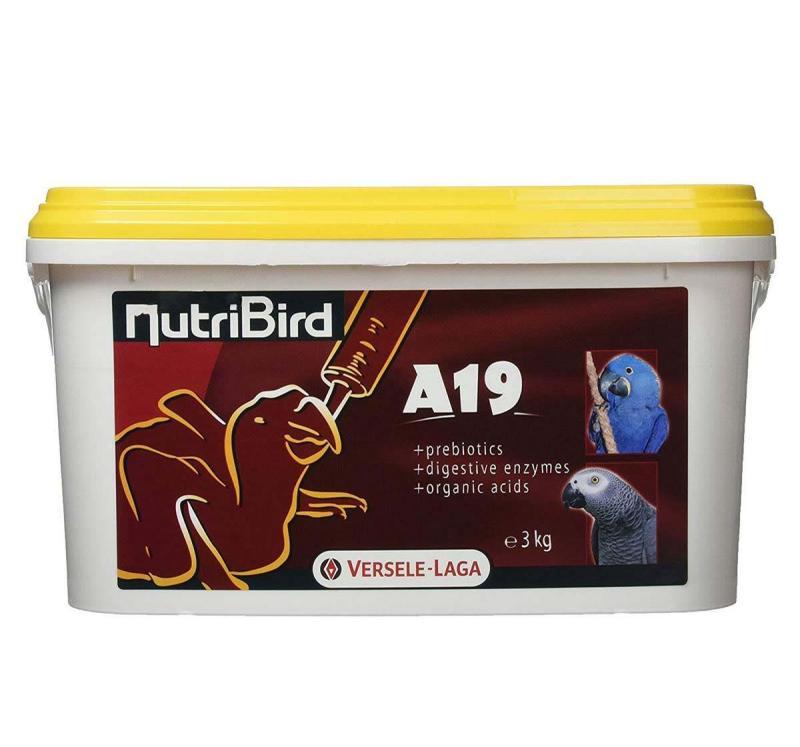 BỘT NUTRIBIRD A19 DINH DƯỠNG CHO VẸT NON-XUẤT XỨ: BỈ