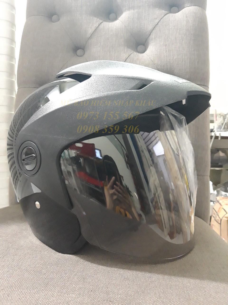 Mũ bảo hiểm HONDA 3/4 trầy xước do vận chuyển