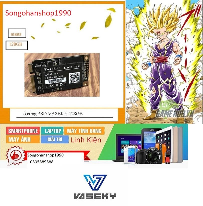 Giá SSD mSATA V800 128GB ổ cứng laptop - msata 128GB VASEKY