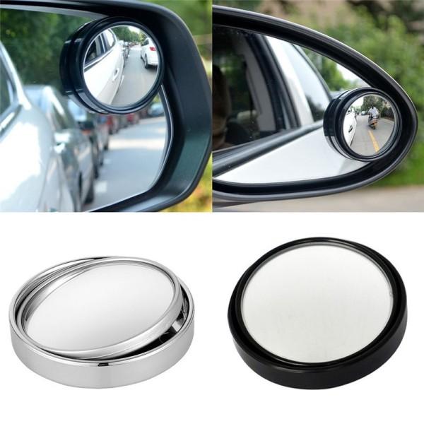 Bộ đôi gương cầu tròn 360 độ Gắn gương chiếu hậu - xóa điểm mù xe hơi, xe máy giá rẻ