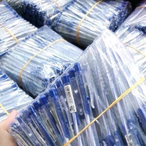 Mua Combo 10 bút bi xanh TL nét thanh mảnh, bi trơn, đều mực siêu tiết kiệm