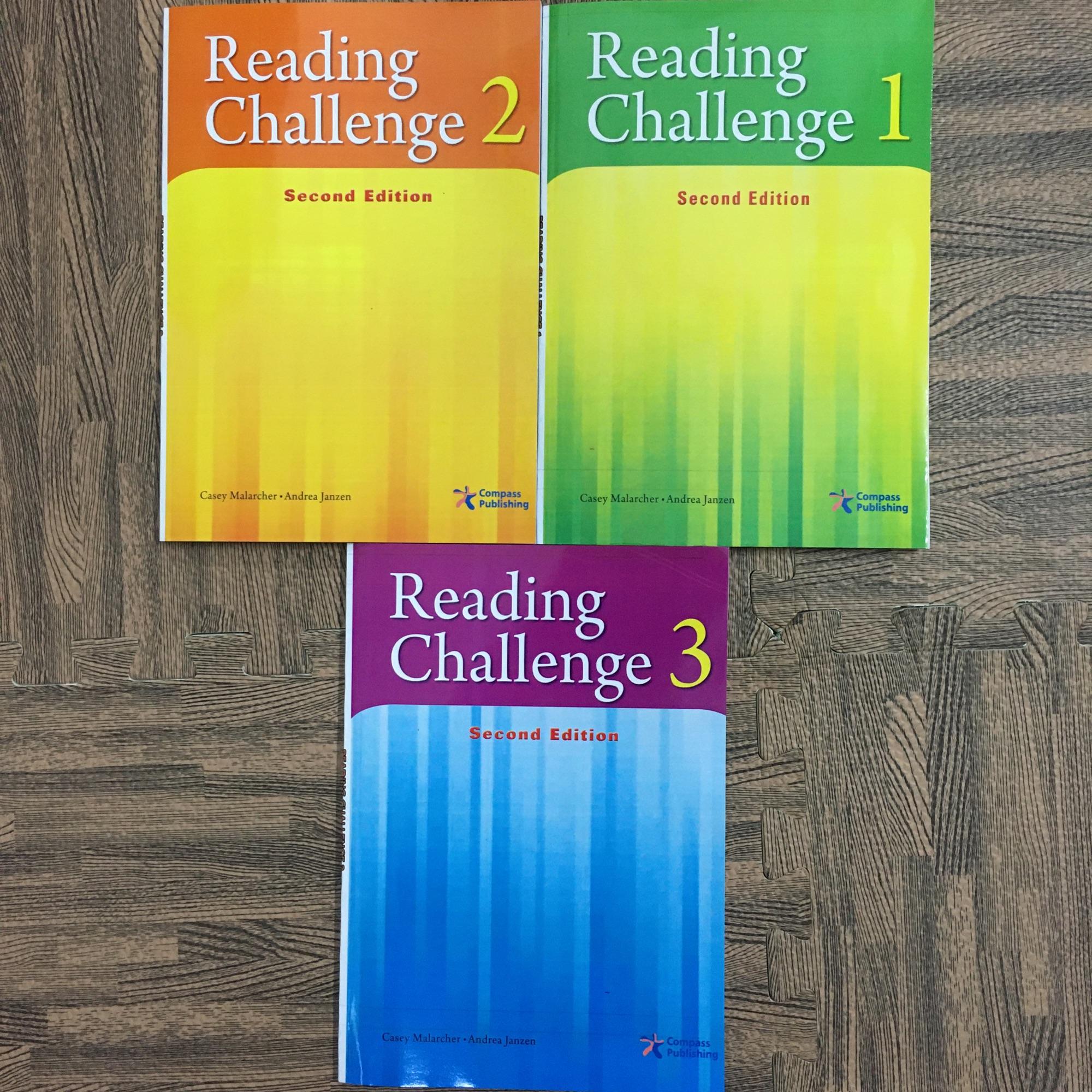 Reading Challenge 1,2,3