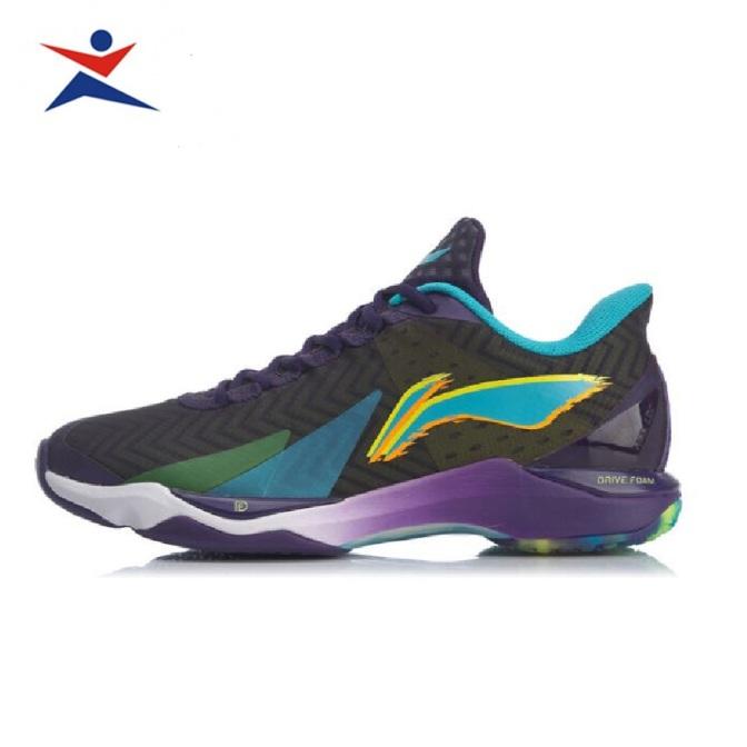 Giày cầu lông nam LI-NING AYAQ007-2 chống lật cổ chân bảo hành 12 tháng-giày thể thao nam nữ-giày đánh bóng chuyền nam giá rẻ