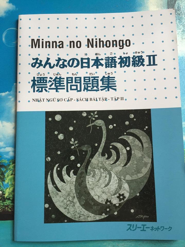 Minna No Nihongo Tập 2 Sách Bài Tập Giá Tốt Không Nên Bỏ Qua